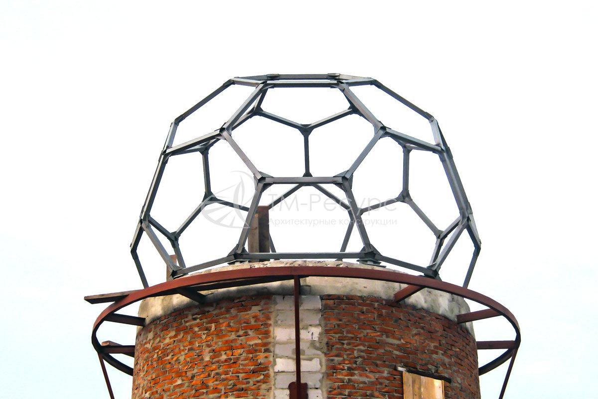 Купол из металла