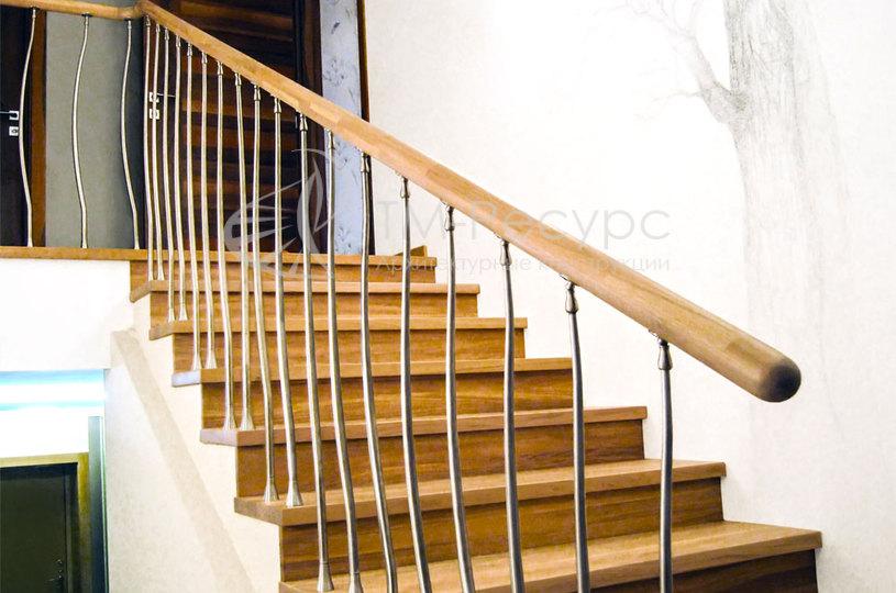 Перила для лестницы сделать